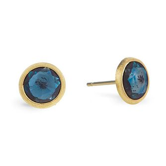 Marco Bicego Jaipur 18ct Yellow Gold London Topaz Earrings - Product number 2394782