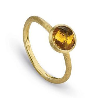 Marco Bicego Jaipur 18ct Yellow Gold Citrine Ring - Product number 2396351