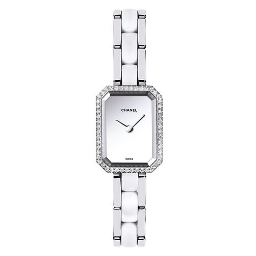 Chanel Premiere Silver Dial Bracelet Watch Diamond Set - Product number 2397684
