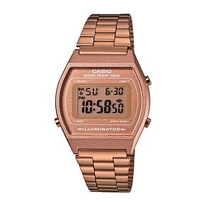 Casio Men's Rose Gold Tone Stainless Steel Digital Watch - Product number 2400596