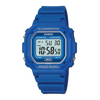 Casio Men's Navy Blue Resin Strap Digital Watch - Product number 2400618