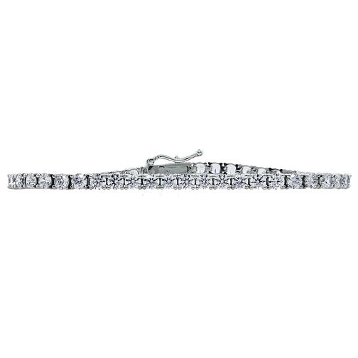 CARAT* LONDON sterling silver stone set tennis bracelet - Product number 2405784