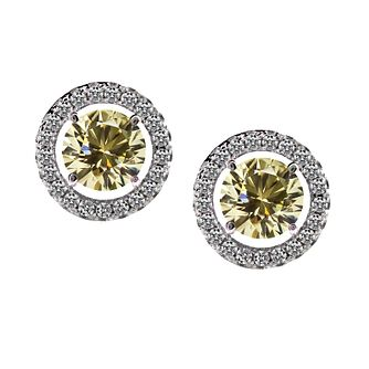 CARAT* LONDON sterling silver border stud earrings - Product number 2406187