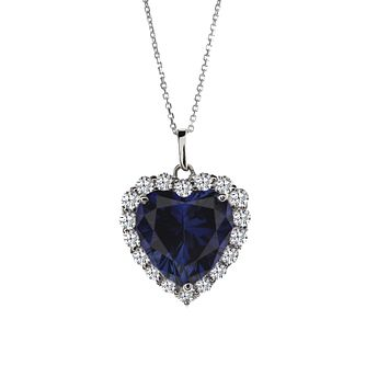 CARAT* LONDON sterling silver sapphire pendant - Product number 2406217