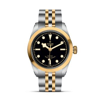Tudor Black Bay 32 Ladies' Two Tone Bracelet Watch - Product number 2434687