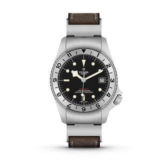 Tudor Black Bay P01 Men's Leather Strap Watch - Product number 2435276