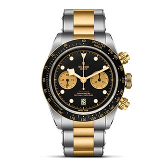 Tudor Black Bay Chrono S&G Men's Two Tone Bracelet Watch - Product number 2446944