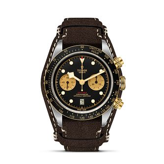 Tudor Black Bay Chrono Men's Black Strap Watch - Product number 2449307