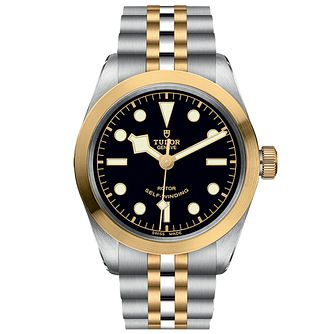 Tudor Black Bay 36 Men's Two Tone Bracelet Watch - Product number 2449315