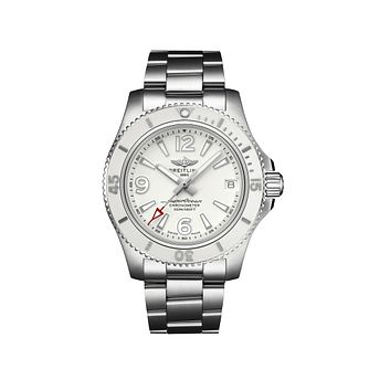 Breitling Superocean 36 Ladies' Stainless Steel Watch - Product number 2465159