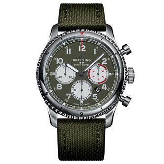 Breitling Aviator 8 B01 Curtiss Warhawk Green Strap Watch - Product number 2465396
