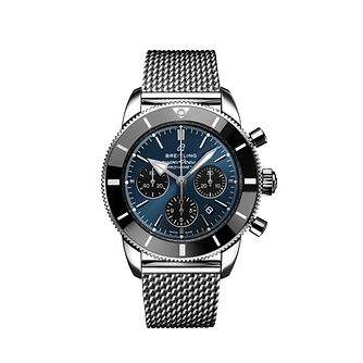 Breitling Superocean Heritage II Men's Steel Bracelet Watch - Product number 2465442