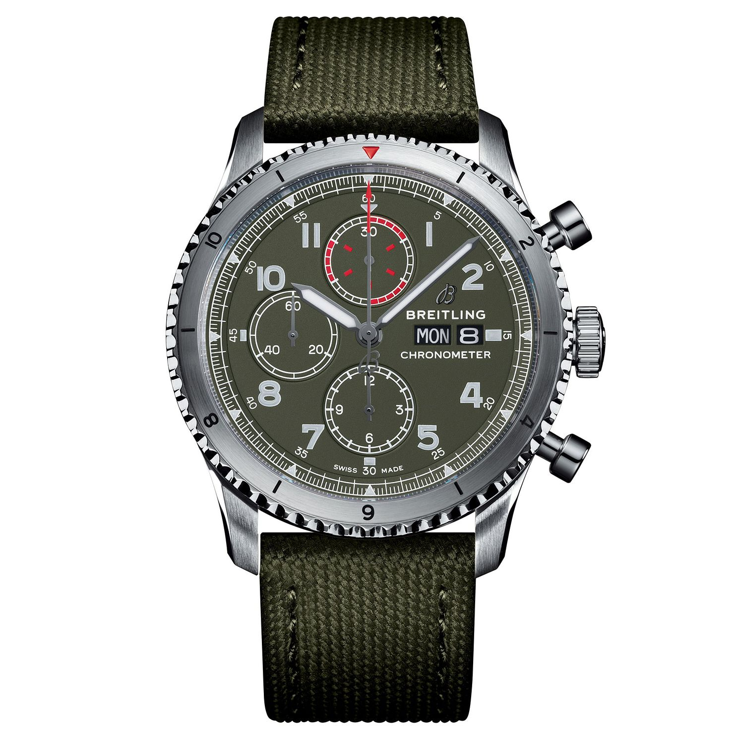 Breitling Navitimer 8 Curtiss Warhawk Green Strap Watch - Product number 2465531