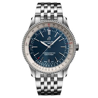 Breitling Navitimer Men's Stainless Steel Bracelet Watch? - Product number 2465574
