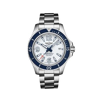 Breitling Superocean 42 Men's Stainless Steel Bracelet Watch - Product number 2465744
