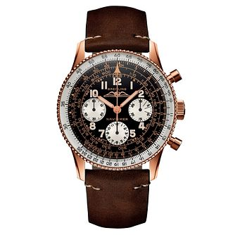 Breitling Navitimer 1959 Edition Brown Leather Strap Watch - Product number 2466058