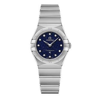 Omega Constellation Diamonds Stainless Steel Bracelet Watch - Product number 2467011