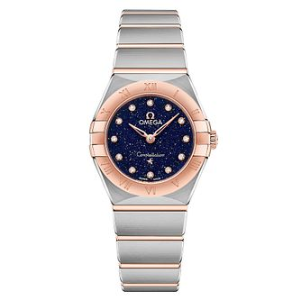 Omega Constellation Diamonds Two Tone Bracelet Watch - Product number 2467178