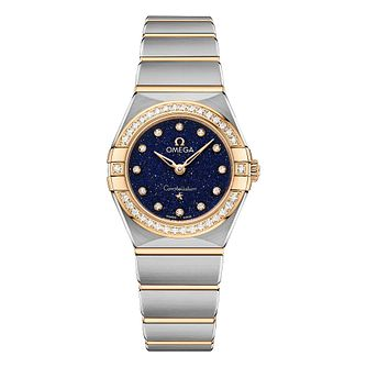 Omega Constellation Diamonds Two Tone Bracelet Watch - Product number 2467208