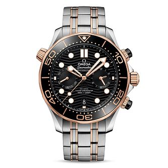 Omega Seamaster Diver Men's Stainless Steel Bracelet Watch - Product number 2467291