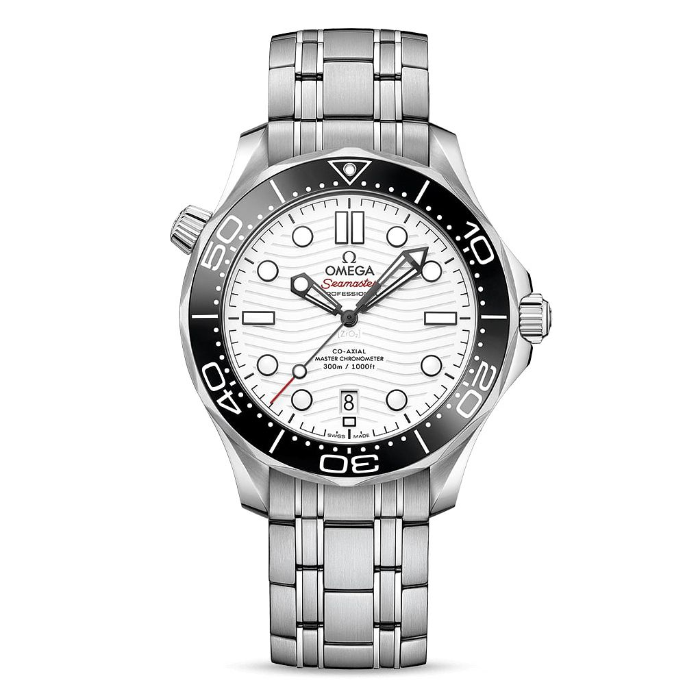 Omega Seamaster Diver Men's Stainless Steel Bracelet Watch - Product number 2467488