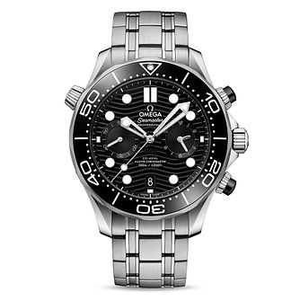 Omega Seamaster Chronograph Stainless Steel Bracelet Watch - Product number 2467623