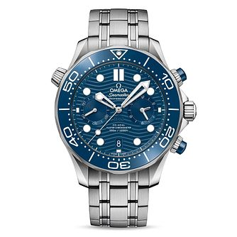 Omega Seamaster Chronograph Stainless Steel Bracelet Watch - Product number 2467658