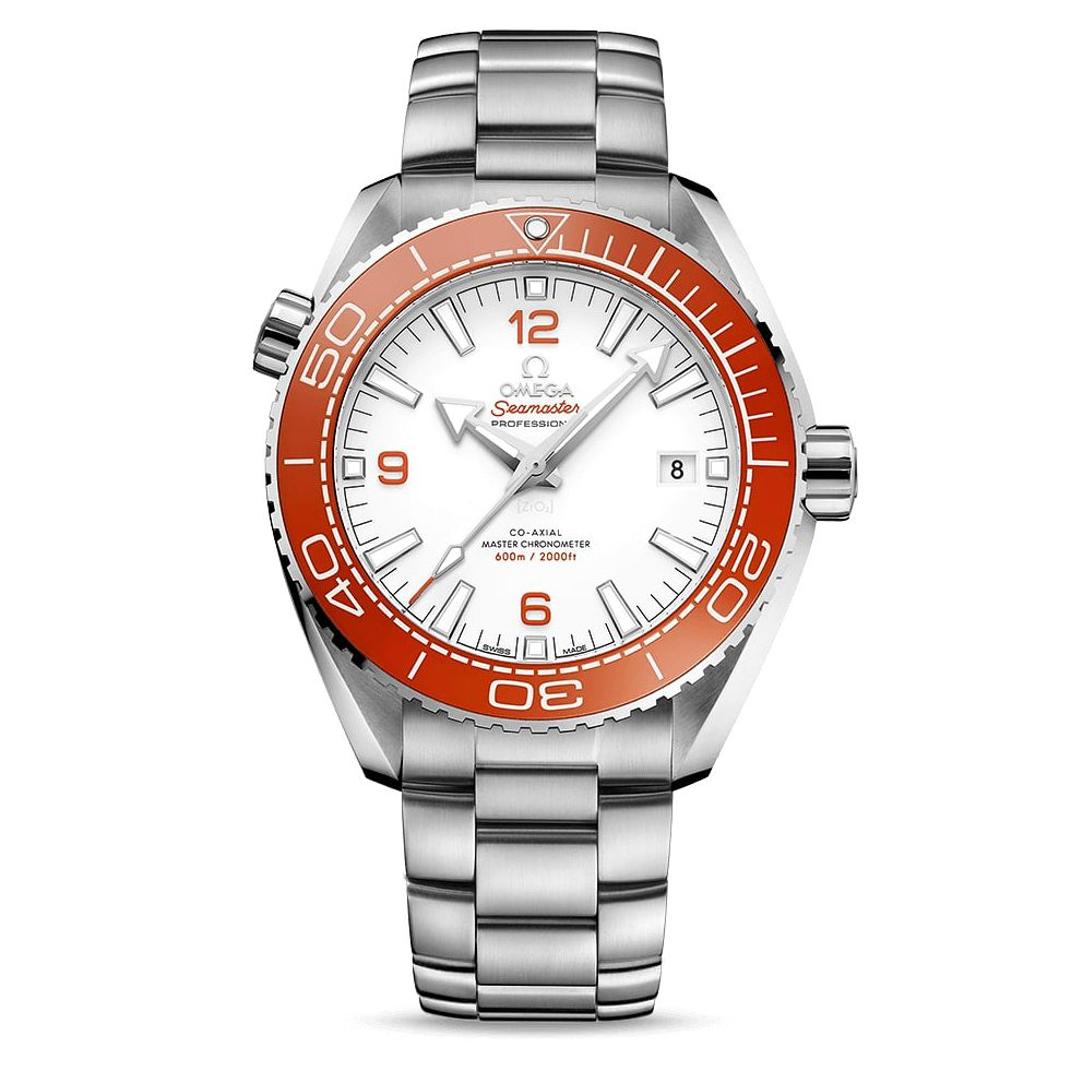 Omega Seamaster Planet Ocean Stainless Steel Bracelet Watch - Product number 2467860