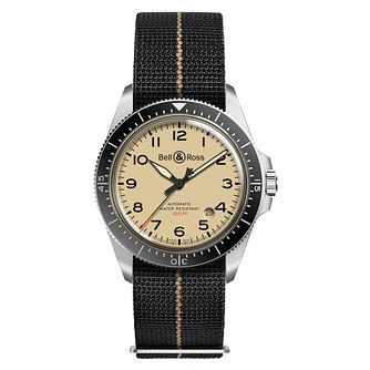 Bell & Ross Military Beige Men's Black Strap Watch - Product number 2468328