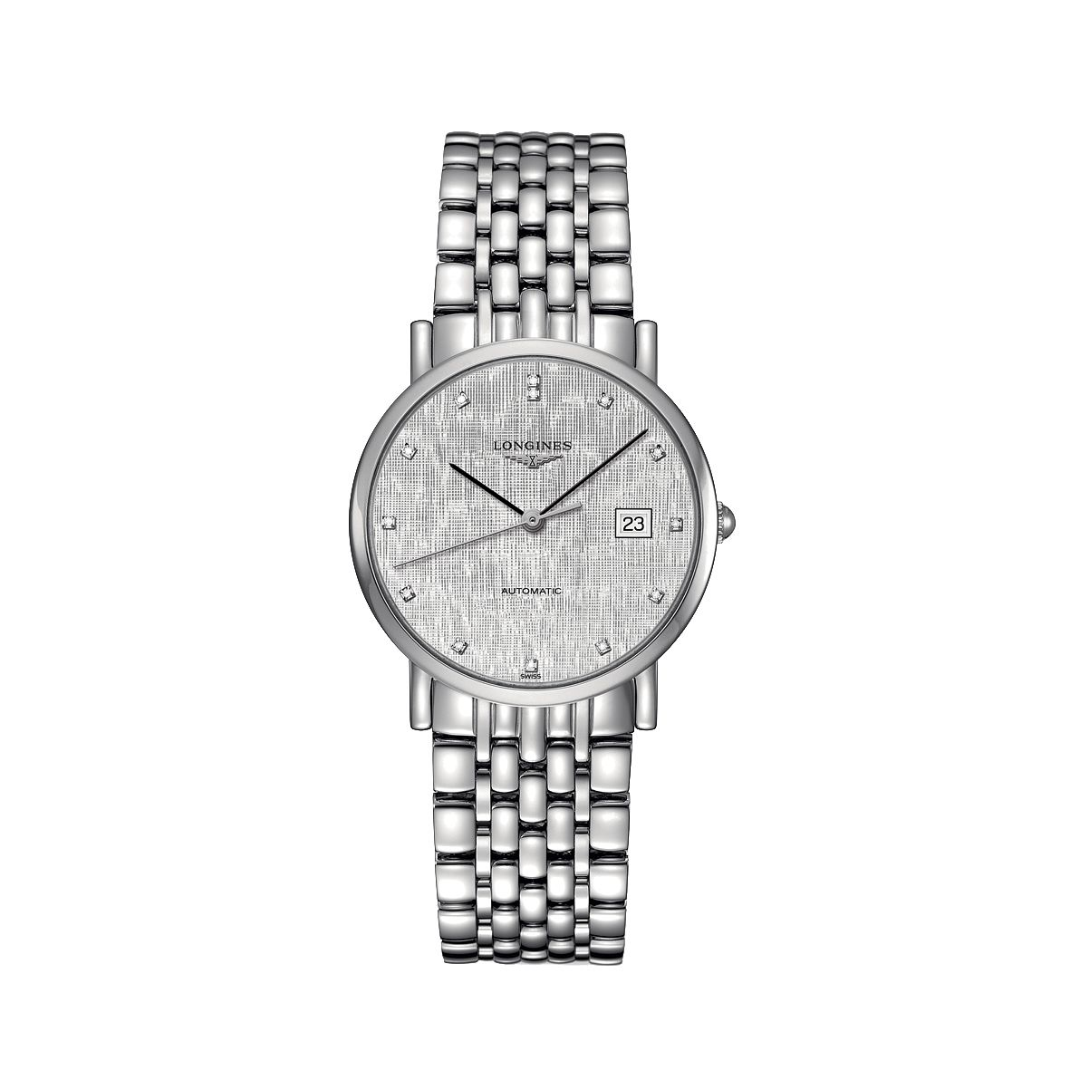 Longines Elegant Men's Diamond Bracelet Watch - Product number 2468522
