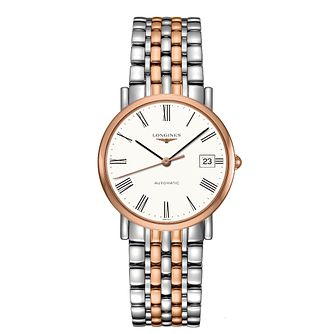 Longines Elegant Ladies' Two Colour Bracelet Watch - Product number 2468581