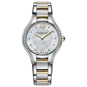 Raymond Weil Noemia Ladies' Diamond Two-Tone Bracelet Watch - Product number 2469065