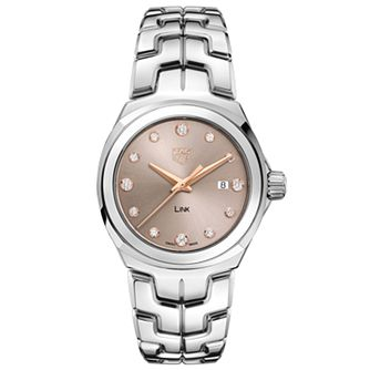 TAG Heuer Link Lady Ladies' Stainless Steel Bracelet Watch - Product number 2469367