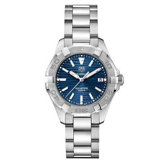 TAG Heuer Aquaracer Ladies' Stainless Steel Bracelet Watch - Product number 2469391