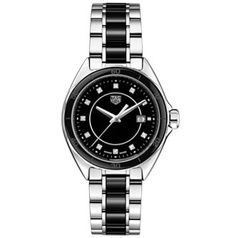 TAG Heuer Formula 1 Ladies' Diamond Set Steel Bracelet Watch - Product number 2469448