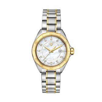 TAG Heuer Formula 1 Ladies' Two Tone Bracelet Watch - Product number 2469472
