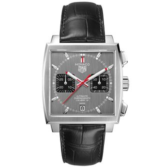 TAG Heuer Monaco Limited Edition Men's Leather Strap Watch - Product number 2469502