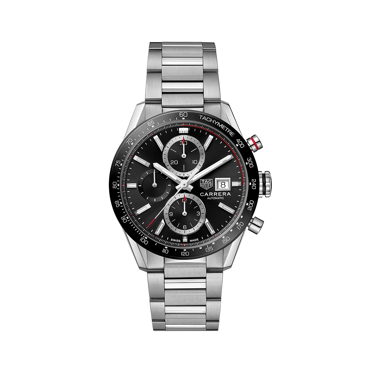 TAG Heuer Carrera Men's Stainless Steel Bracelet Watch - Product number 2469685