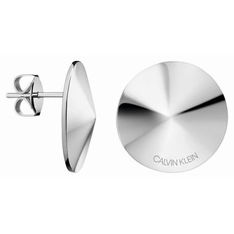 Calvin Klein Small Spinner Stainless Steel Stud Earrings - Product number 2471264