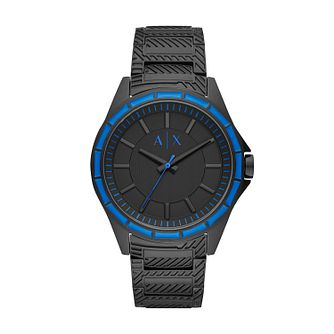 Armani Exchange Men's Black Stainless Steel Bracelet Watch - Product number 2471698
