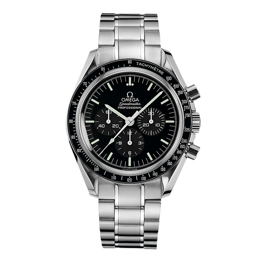 Omega Speedmaster Moonwatch Men's Steel Bracelet Watch - Product number 2523442