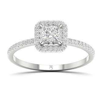 The Diamond Story 18ct White Gold 0.62ct Diamond Ring - Product number 2537516