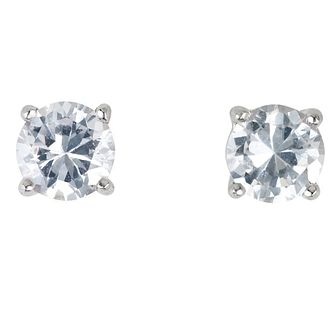 Platinum ¾ carat Diamond H-I P1 Stud Earrings - Product number 2542390