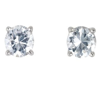 Platinum ¾ carat Diamond Stud H-I SI2 Earrings - Product number 2542404