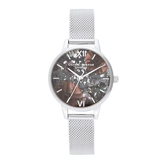 Olivia Burton Celestial Stainless Steel Mesh Bracelet Watch - Product number 2581663