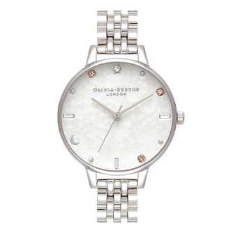 Olivia Burton Celestial Stainless Steel Bracelet Watch - Product number 2581671