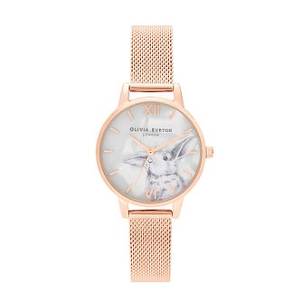 Olivia Burton Winter Wonderland Gold Tone Bracelet Watch - Product number 2581906