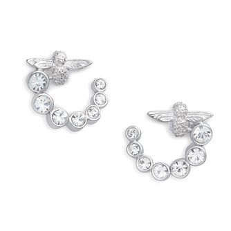 Olivia Burton Bejewelled Bee Silver Hoop Earrings - Product number 2582066