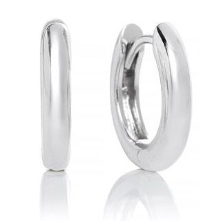 Olivia Burton Silver 10mm Huggie Hoop Earrings - Product number 2582414