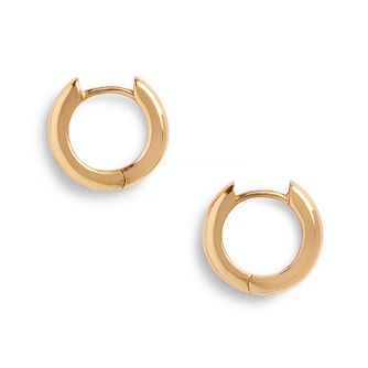 Olivia Burton Yellow Gold Tone 10mm Huggie Hoop Earrings - Product number 2582422